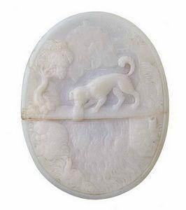 Camée &;le chien et son ombre&; - photo copyright to museum of london